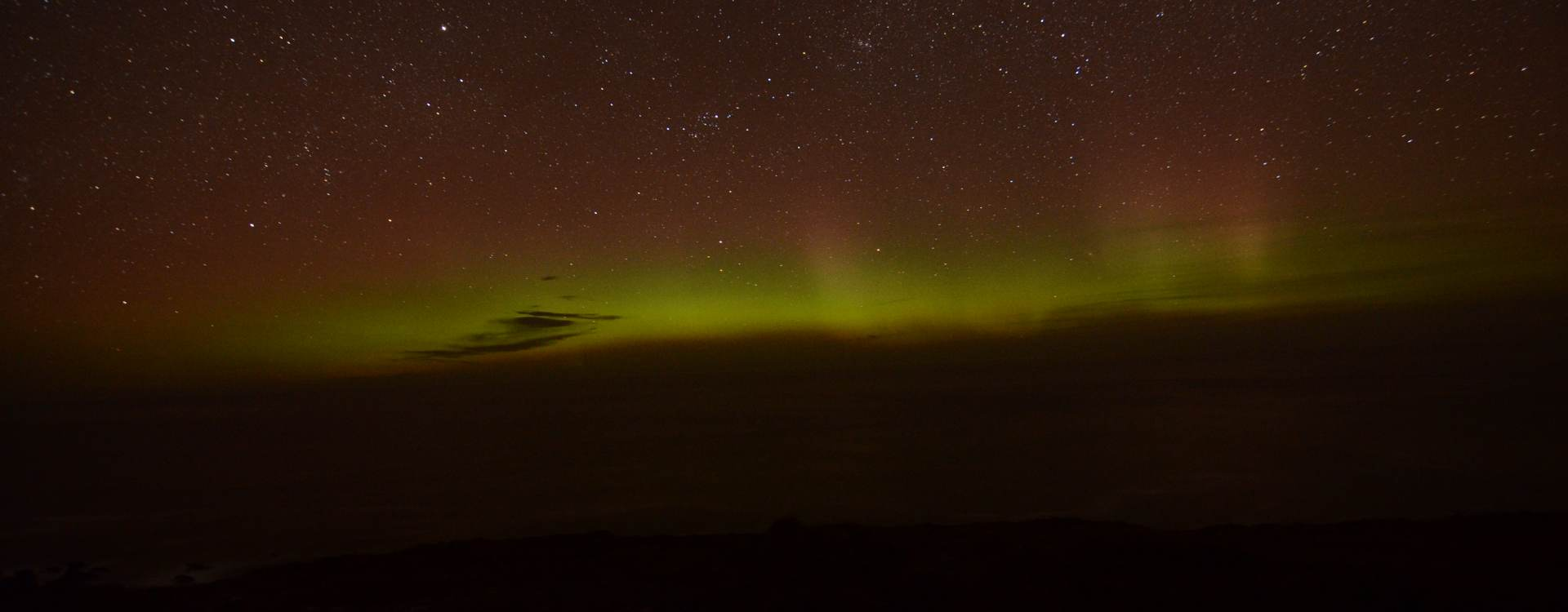Northern Lights over Malin Head